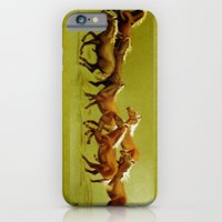 iPhone & iPod Case featuring Gallop by Vargamari