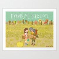 'Moonrise Kingdom' Art Print