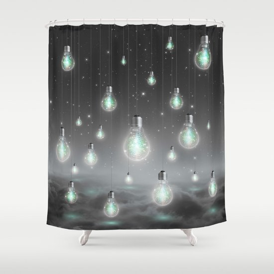 Shine From Within (Shine Bright Series) Shower Curtain