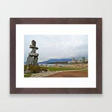 english bay Framed Art Print