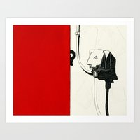 Plug Art Print