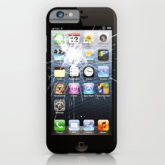 iPhone5 Broken (follow link below for iPhone4) iPhone & iPod Case