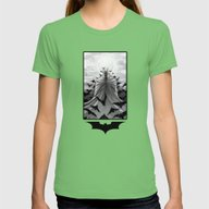 Night Womens Fitted Tee Grass SMALL