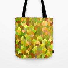 Happy autumn cubes Tote Bag