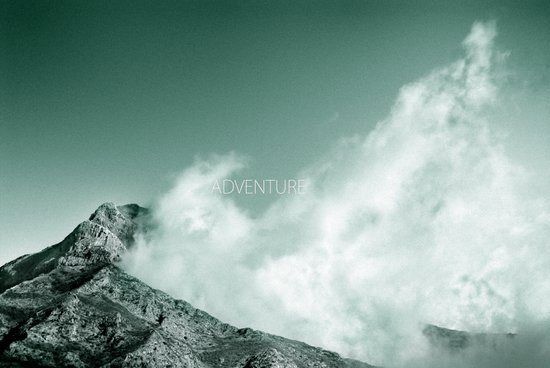 """""""Adventure at the mountain"""" Canvas Print"""