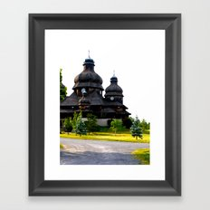 Ukrainian Church Framed Art Print