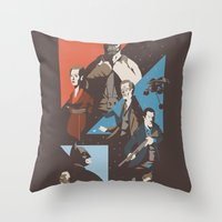 Pain Throw Pillow