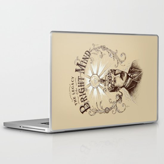 The Legacy of the Bright Mind Laptop & iPad Skin