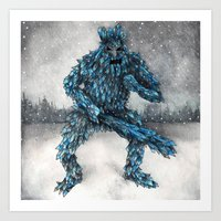 Frost Giant Art Print