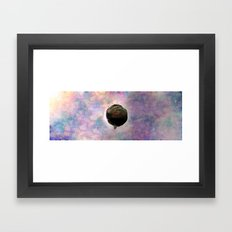 Keep Calm And Float On Framed Art Print