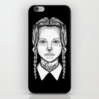 Addams iPhone & iPod Skin
