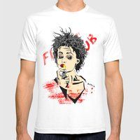 Marla Mens Fitted Tee White SMALL