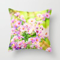 Fluffy Dreams Throw Pillow