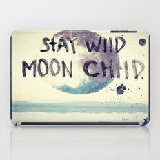 stay wild iPad Case