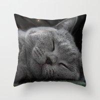 Beauty Sleep Throw Pillow