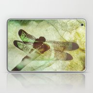 Laptop & iPad Skin featuring Dragonfly by SpaceFrogDesigns