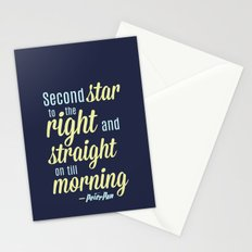 Peter Pan Quote Stationery Cards