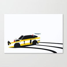 Quattro S1 Canvas Print