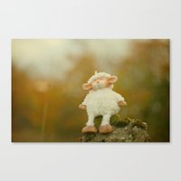 Just Sitting In The Even… Canvas Print