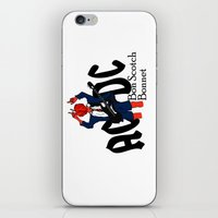 Bon Scot iPhone & iPod Skin