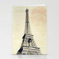 Parisian Vintage Stationery Cards