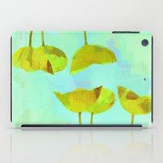 6 Yellow Flowers On Turq… iPad Case
