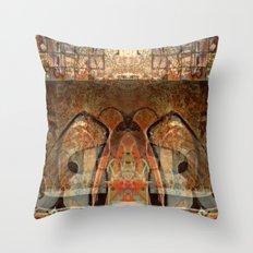 Ancient God I Throw Pillow