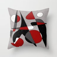 Abstract #106 Throw Pillow