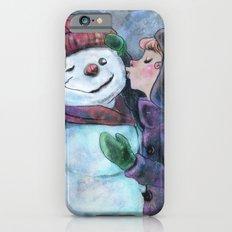 Kiss a snowman Slim Case iPhone 6s