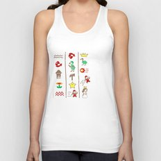 The Legend of Mario Unisex Tank Top