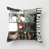 The Reichenbach Fall Throw Pillow