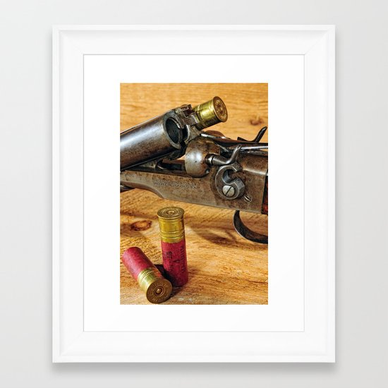 Double Barrel  Framed Art Print