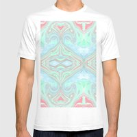 Marble Mens Fitted Tee White SMALL