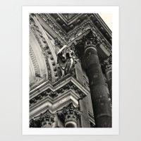Berliner Dom Angel Art Print