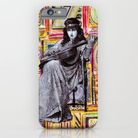 Guitarist in Time iPhone 6 Slim Case