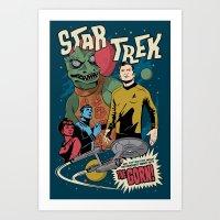 Star Trekk Art Print