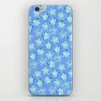 Wallflower - Colony Blue iPhone & iPod Skin
