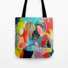 Sam And Mon Tote Bag