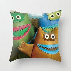 Alt. Album Cover: Green Naugahyde Throw Pillow