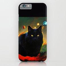 black cat Slim Case iPhone 6s