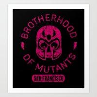 Bad Boy Club: Brotherhood of Mutants  Art Print