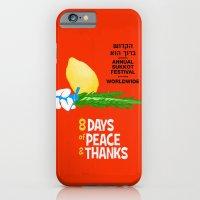 Sukkot Poster iPhone 6 Slim Case