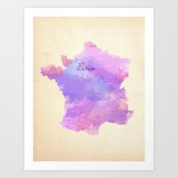 Paris, France  Art Print