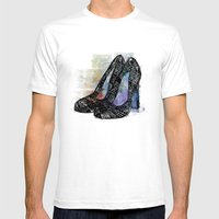 Pumps Mens Fitted Tee White SMALL