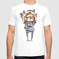 Finn The Human Mens Fitted Tee White SMALL