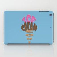 Ice Cream Cone iPad Case