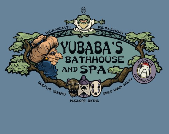 Yubaba's Bathhouse Art Print