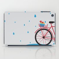 Bicycle & Rain iPad Case
