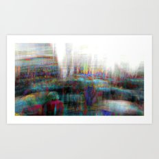 And the longer you linger, the linger you long. 01 Art Print