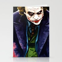 Angel Of Chaos (The Joker) Stationery Cards